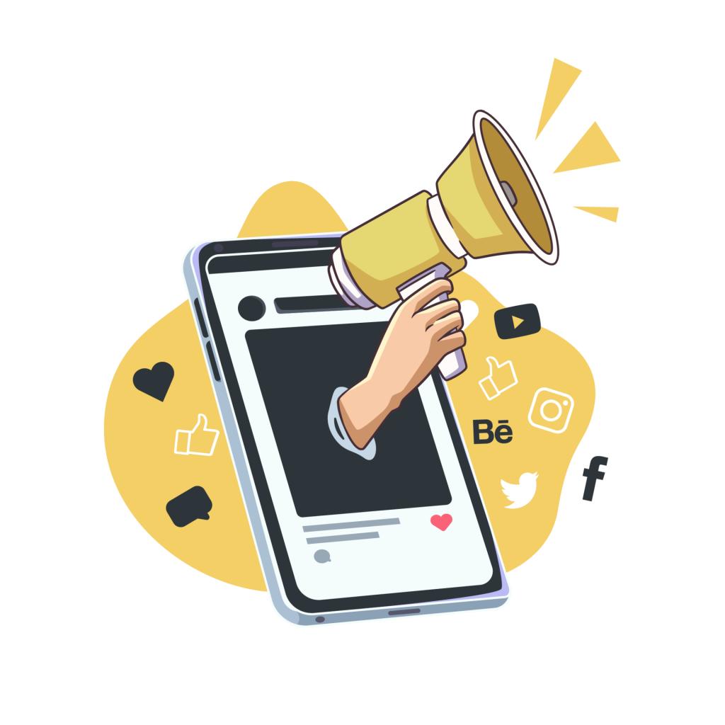 Using social media for outreach