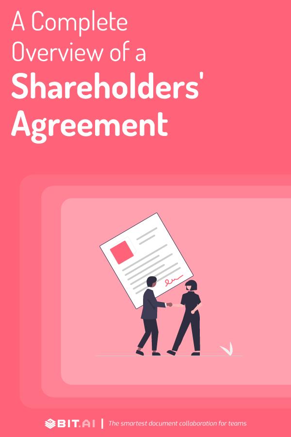Shareholder's agreement - pinterest