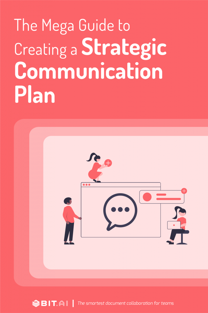 Communication plan - pinterest
