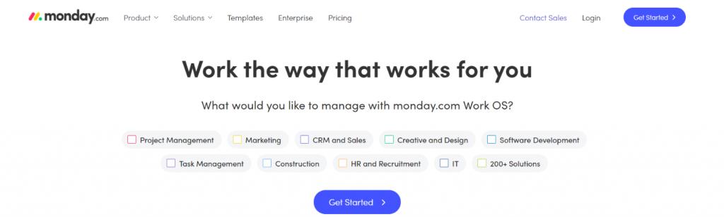 Monday.com: Asana alternative and competitor