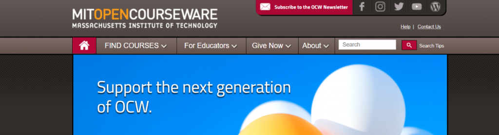 MIT OpenCourseware: Resources to Learn Programming