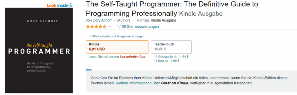 The Self-Taught Programmer: Resources to Learn Programming