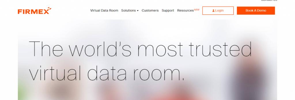 Firemex: Virtual data room providers
