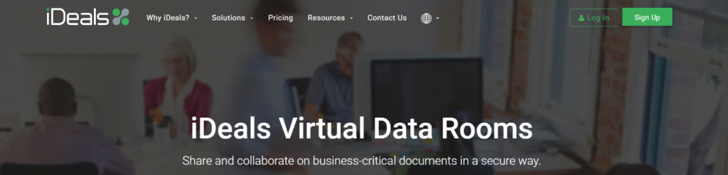 iDeals: Virtual data room providers