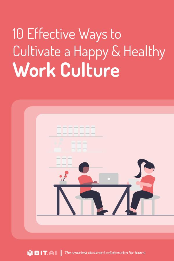 Happy & Collaborative Work Culture - Pinterest