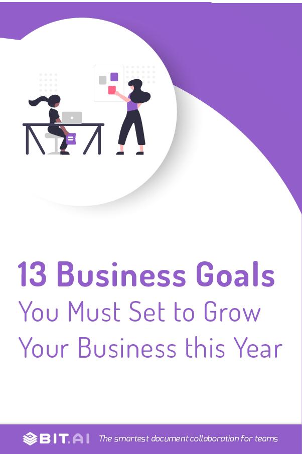 Business goals - Pinterest