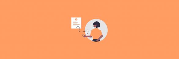 Marketing resume - blog banner