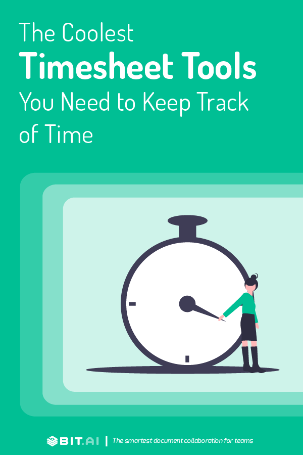 Timesheet tools and software - Pinterest