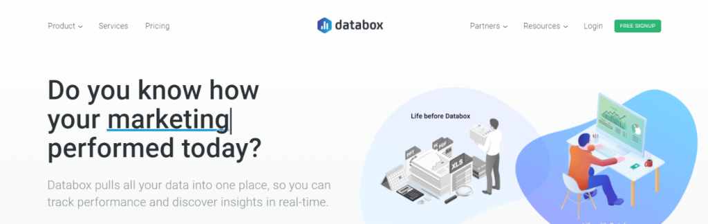 Databox: KPI dashboard tools and software