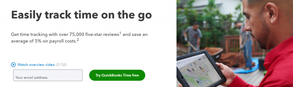 Quickbooks time: Timesheet Software & Tool
