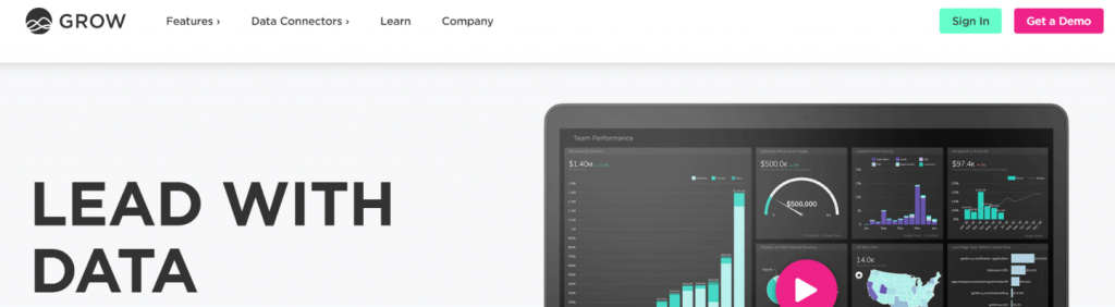 Grow: KPI dashboard tools and software