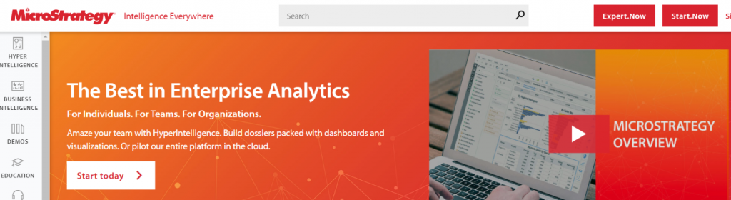 Micro strategy: Business intelligence tools & Software