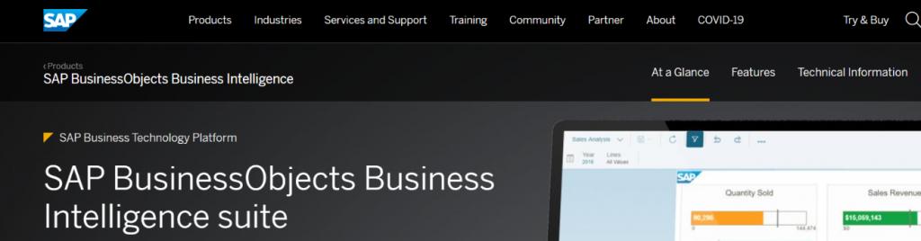 Sap business intelligence: Business intelligence tools & Software