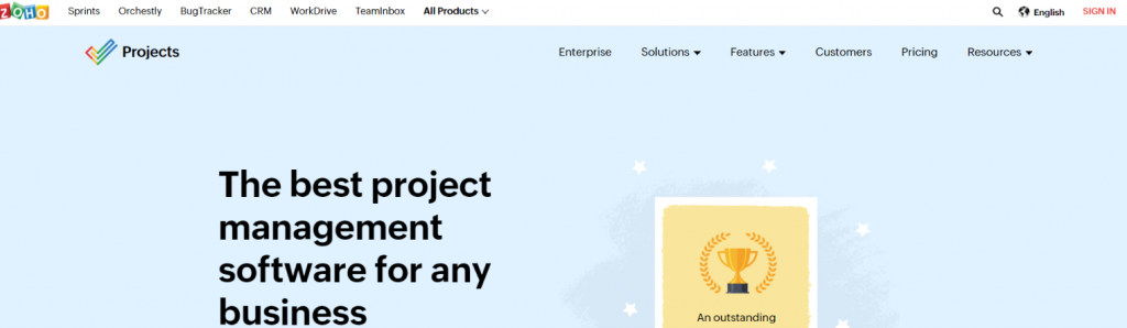 Zoho projects: Timesheet Software & Tool