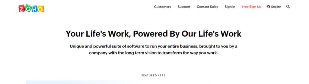 Zoho analytics: Business intelligence tools & Software