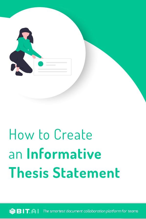 Thesis statement - pinterest