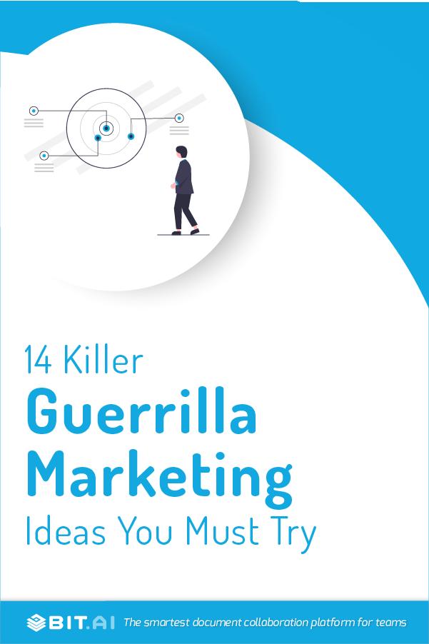 Guerilla marketing ideas - pinterest