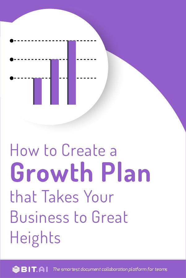 Growth plan - pinterest