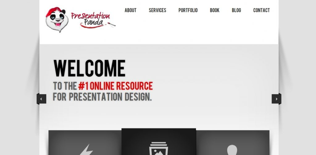 Presentation panda: Presentation blog and website