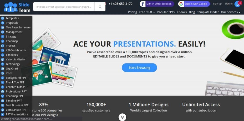 The slide team: Presentation blog and website