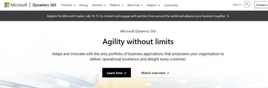 Microsoft dynamics: CRM tool and software