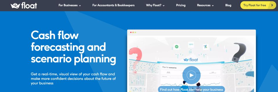 Float: Budgeting tool and software