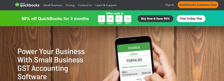 Quickbooks: Budgeting tool and software