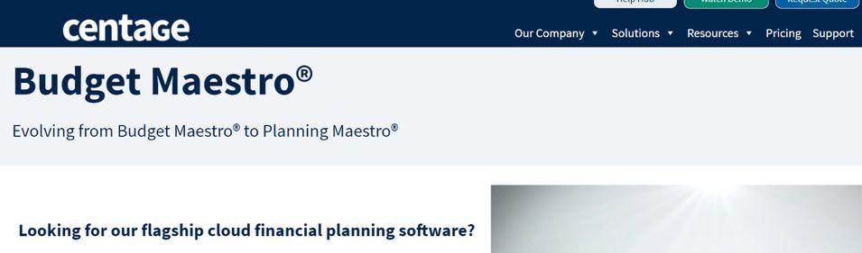 Budget Maesro: Budgeting tool and software