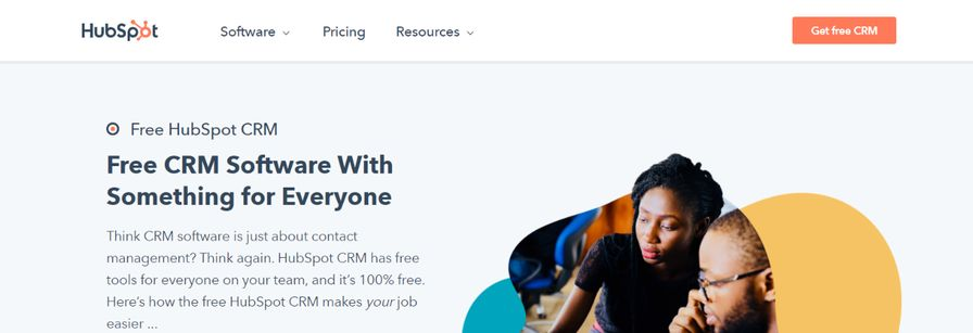 Hubspot CRM: CRM tool and software