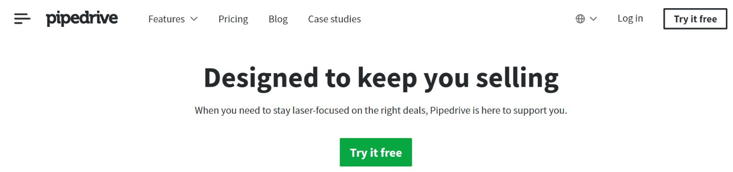 Pipedrive: CRM tool and software