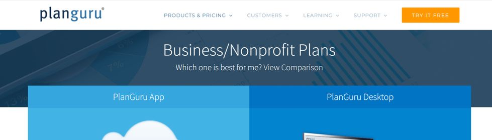 Planguru: Budgeting tool and software