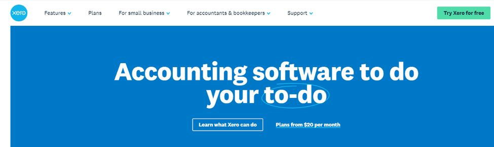 Xero: Budgeting tool and software