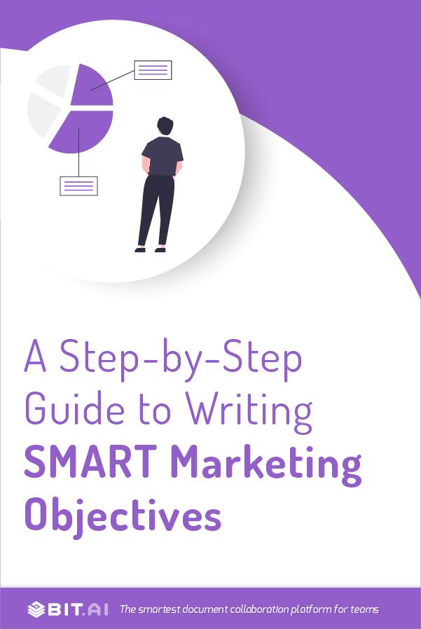 SMART Marketing Objectives - pinterest