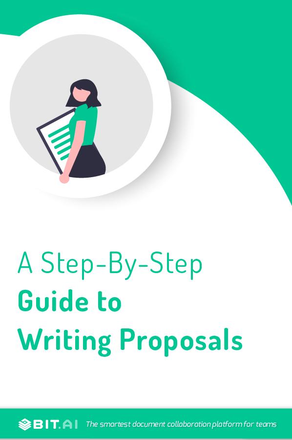 Proposal writing - pinterest