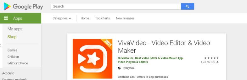 Viva Video: Video editing app