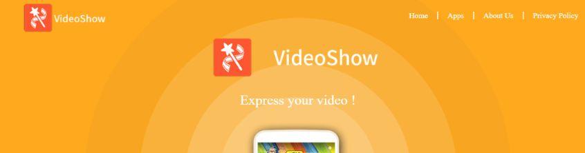 Videoshow: Video editing app