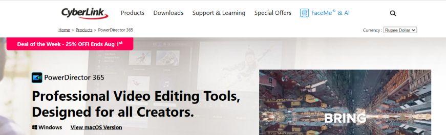 Powerdirector: Video editing app