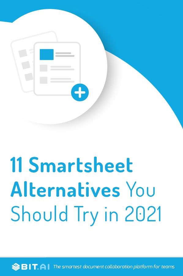 Smartsheet alternatives - pinterest