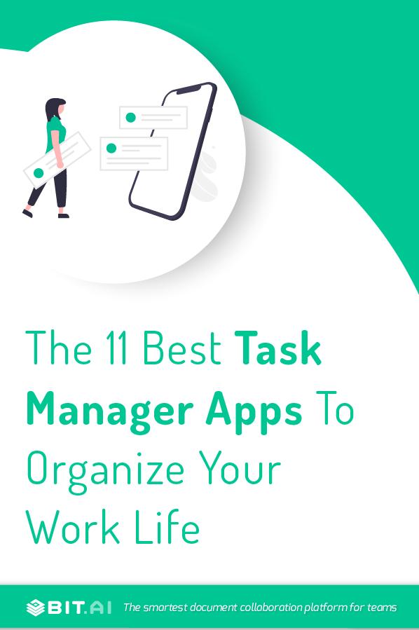Task manager apps - Pinterest