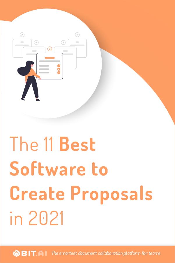 Proposal software - pinterest