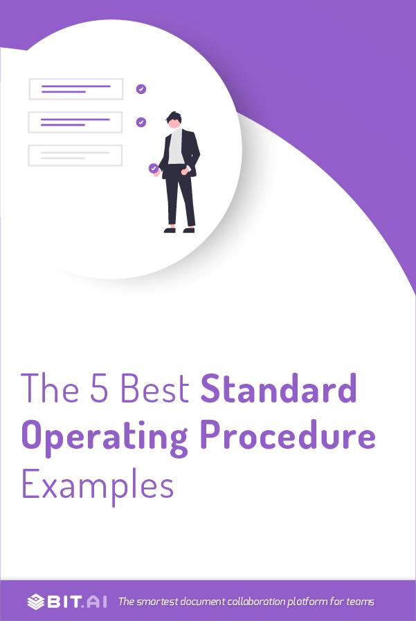 Standard operating procedure examples - Pinterest