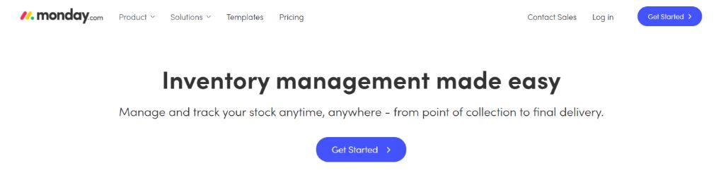 Monday: Client Management Software