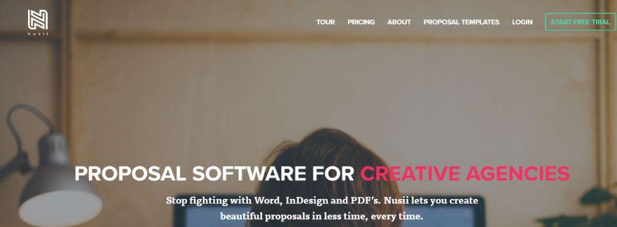Nusii: Proposal software