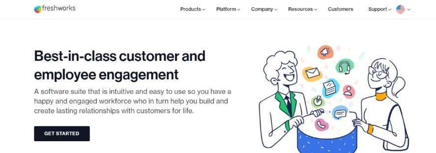 Freshworks: Client Management Software