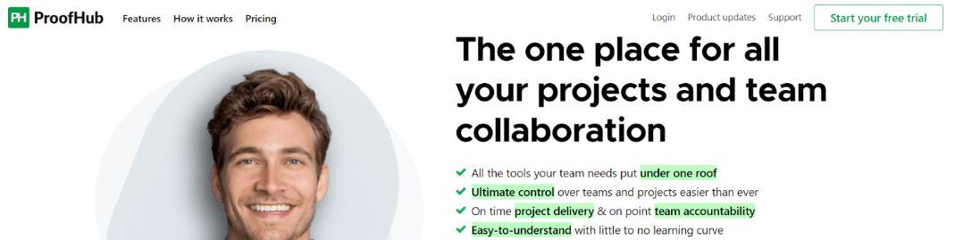Proofhub: Task Manager App