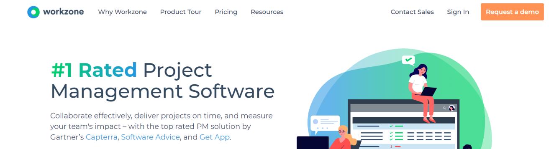 Workzone: Smartsheet alternative and competitor