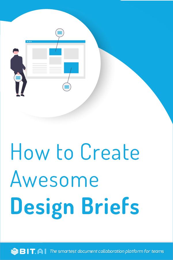 Design briefs - Pinterest