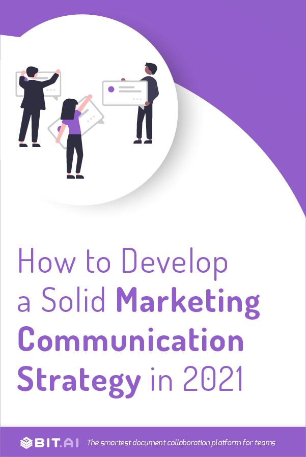 Marketing communication strategy - Pinterest