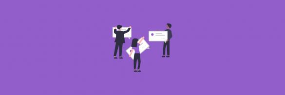 Marketing communication strategy - blog banner
