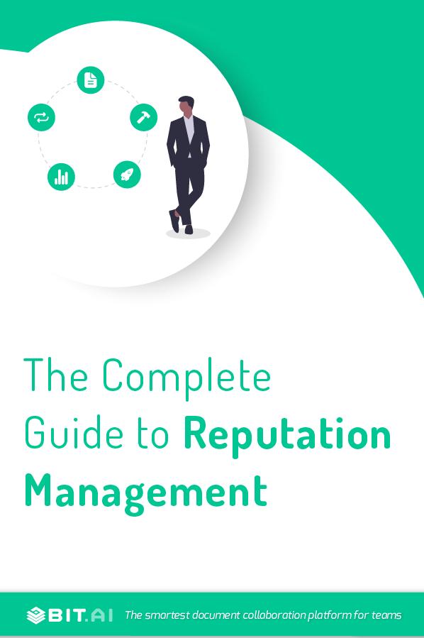Reputation management - Pinterest